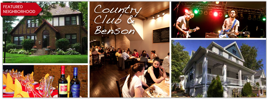 Country club and Benson Omaha Real Estate